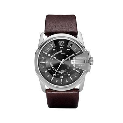 bracelet cuir montre diesel
