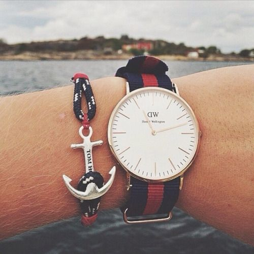 bracelet daniel wellington homme
