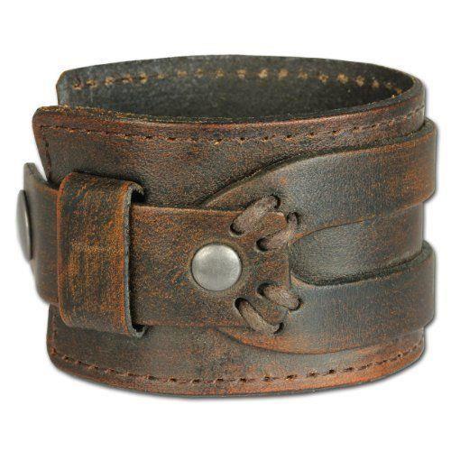 bracelet de force en cuir homme