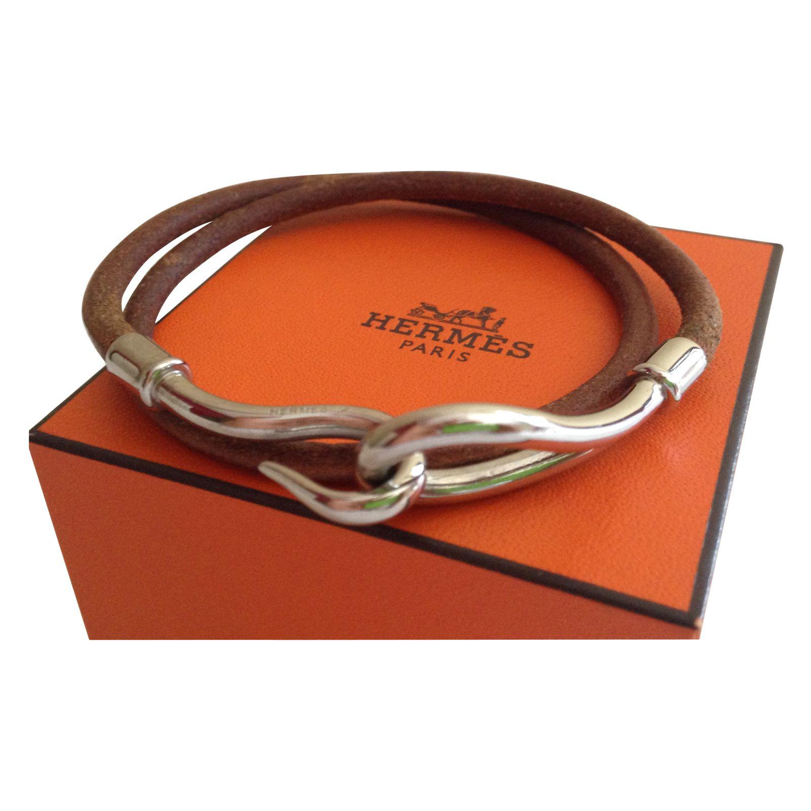 bracelet en cuir femme hermes