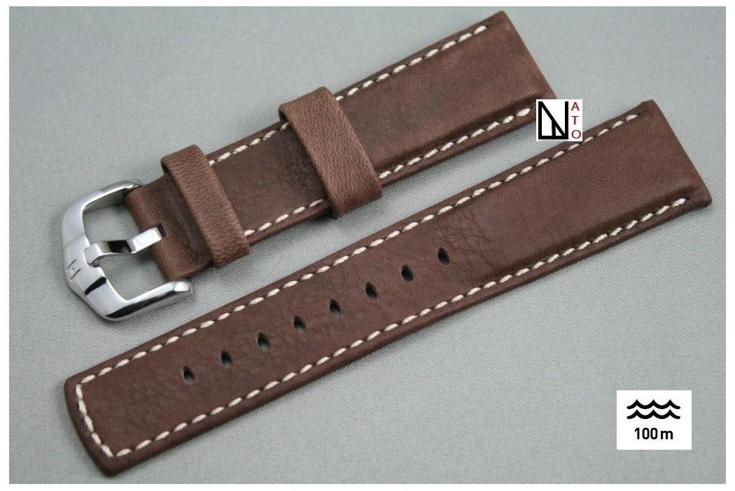 bracelet en cuir montre