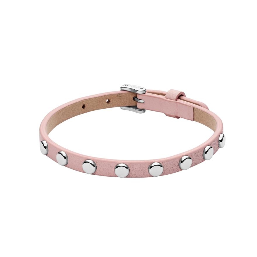 bracelet fossil cuir femme