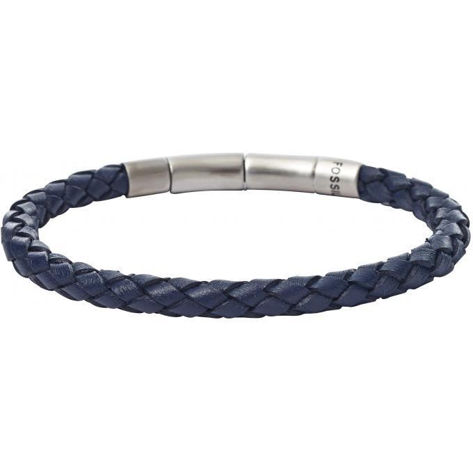 bracelet fossil homme cuir