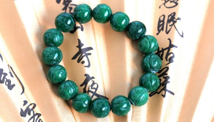 bracelet jade veritable