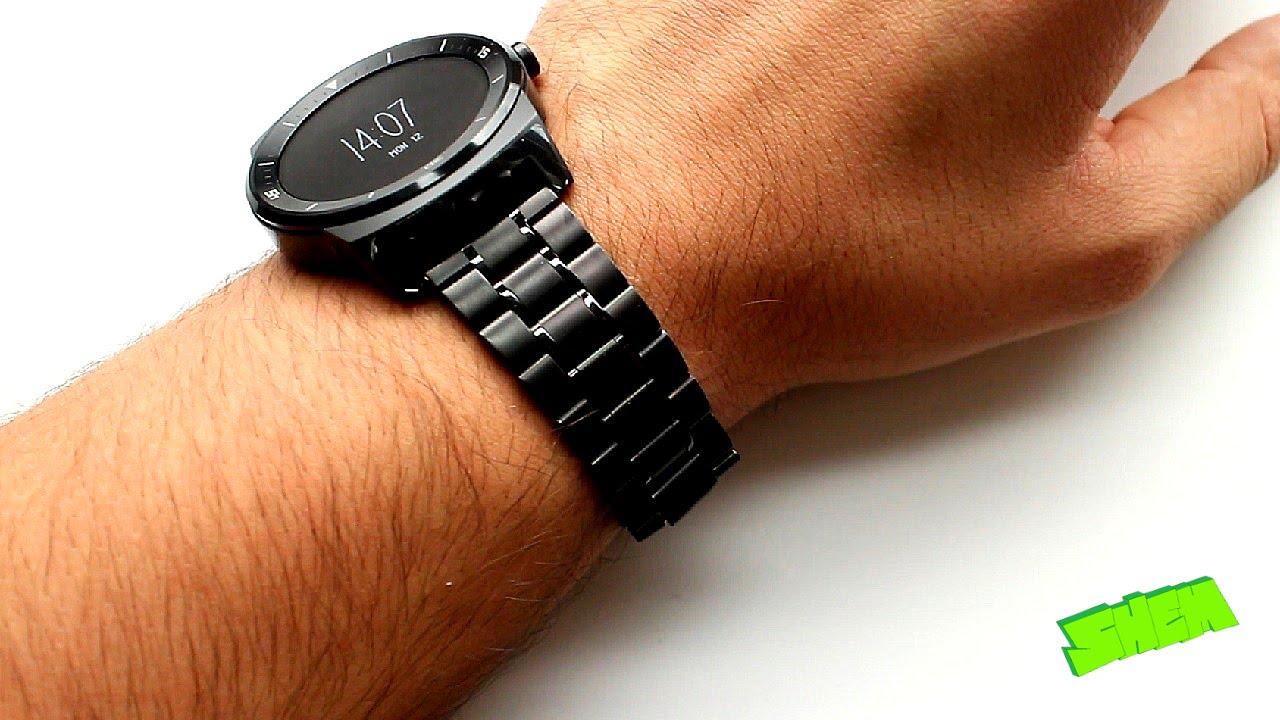 bracelet lg watch r