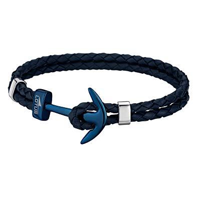 bracelet lotus ancre