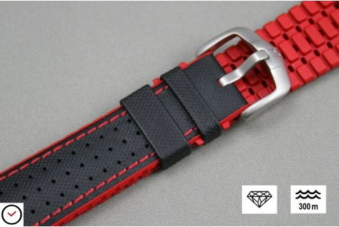 bracelet montre 22mm silicone