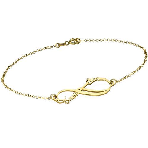 bracelet prenom infini