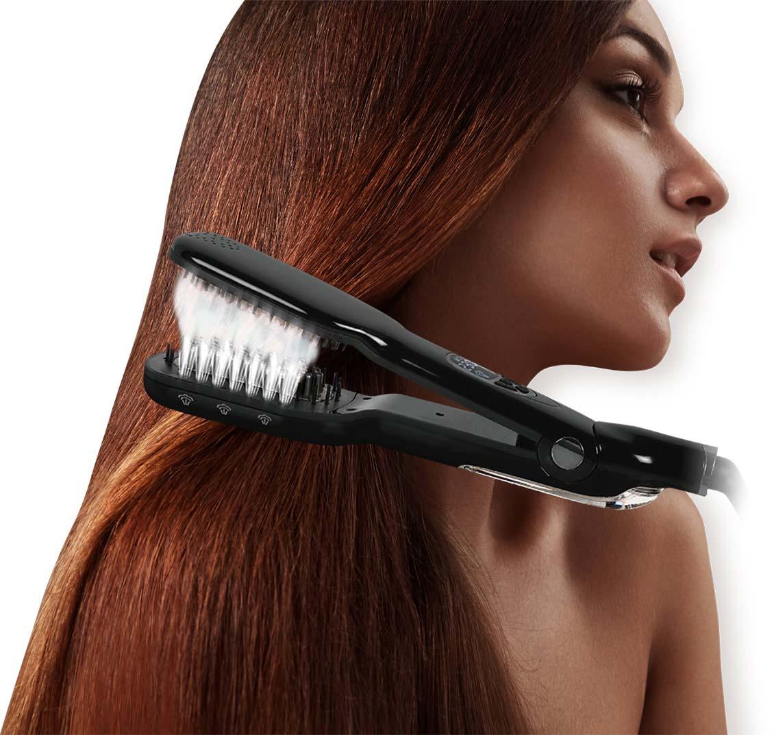 brosse a cheveux vapeur