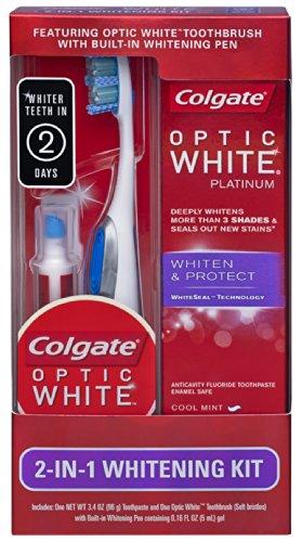 brosse a dent avec stylo blanchissant