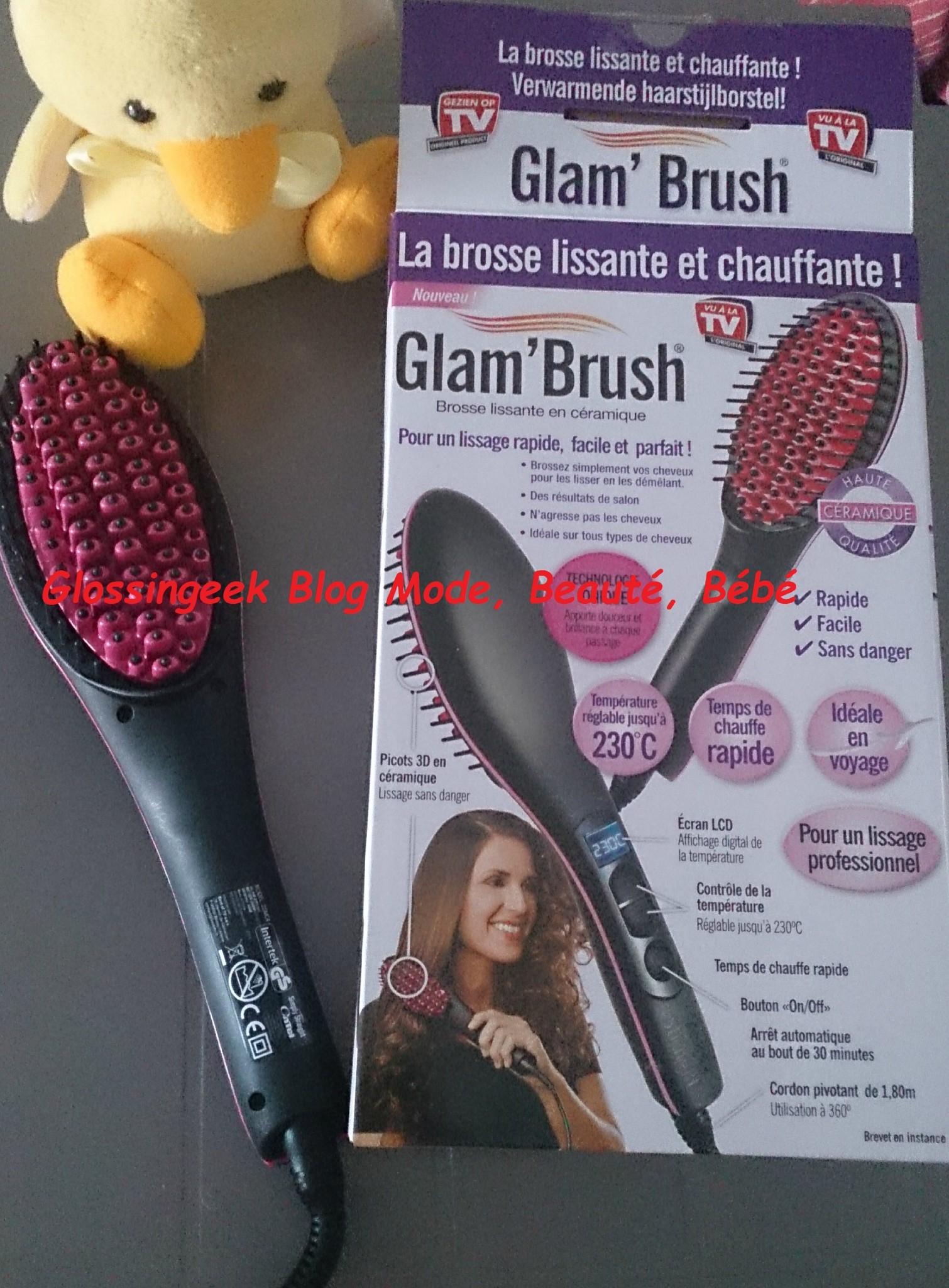brosse chauffante glam brush