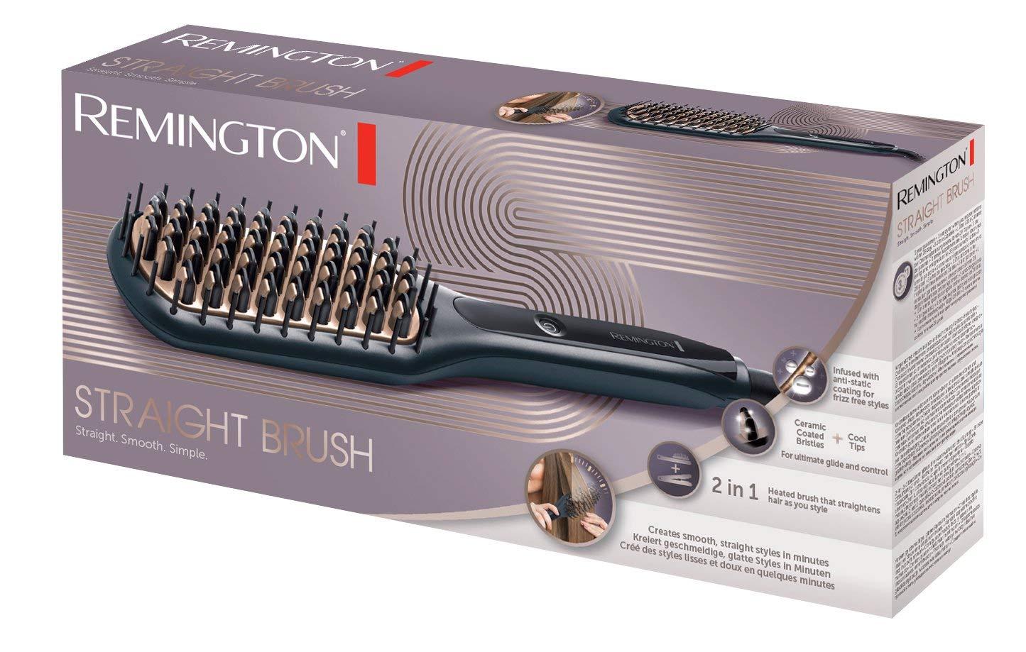 brosse chauffante lissante remington