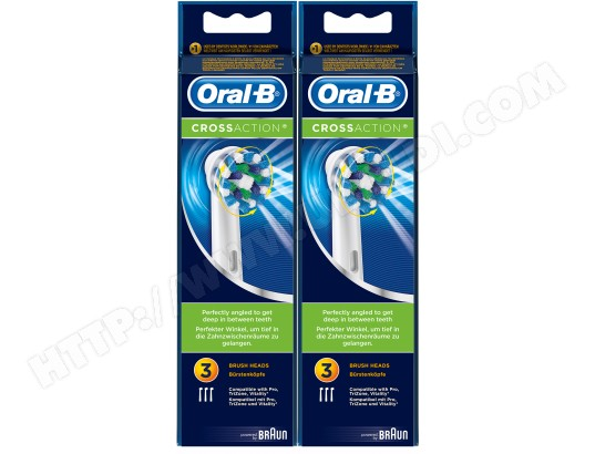 brossette crossaction oral b