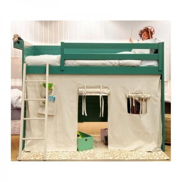 cabane de lit en tissu