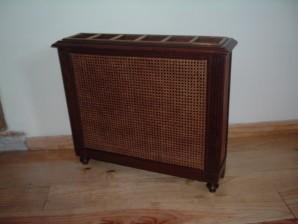 cache radiateur ancien