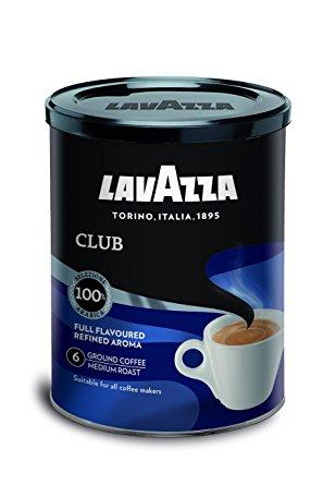 café lavazza moulu