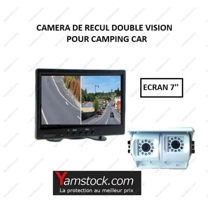 camera double objectif pour camping car