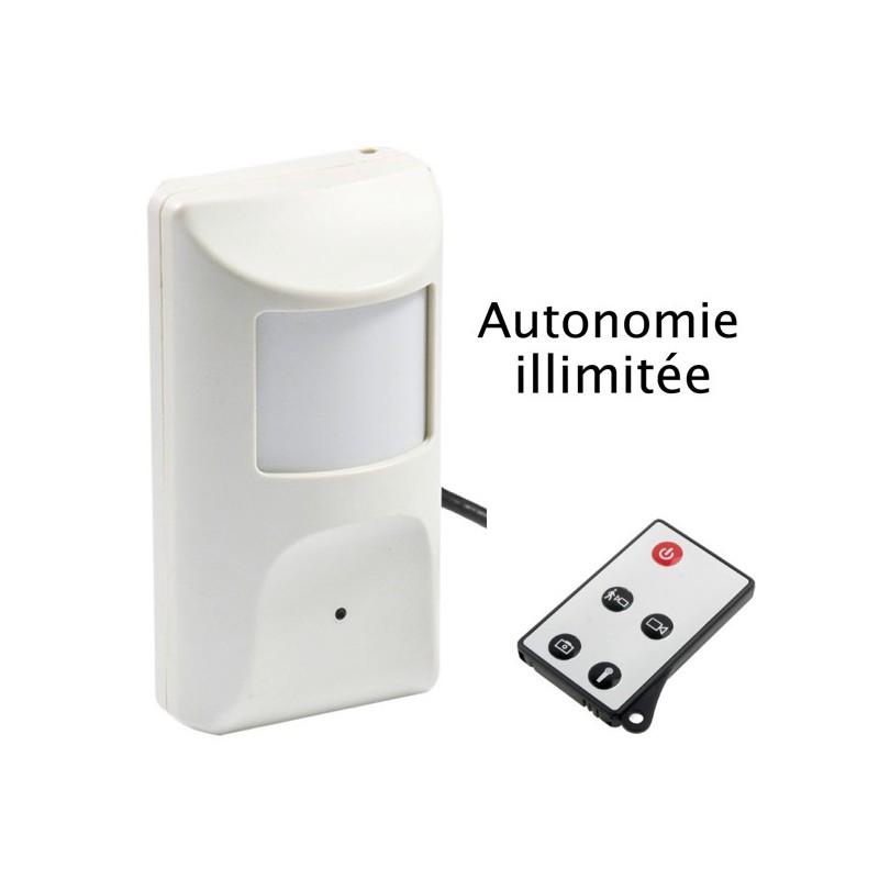 camera espion detecteur de mouvement sans fil