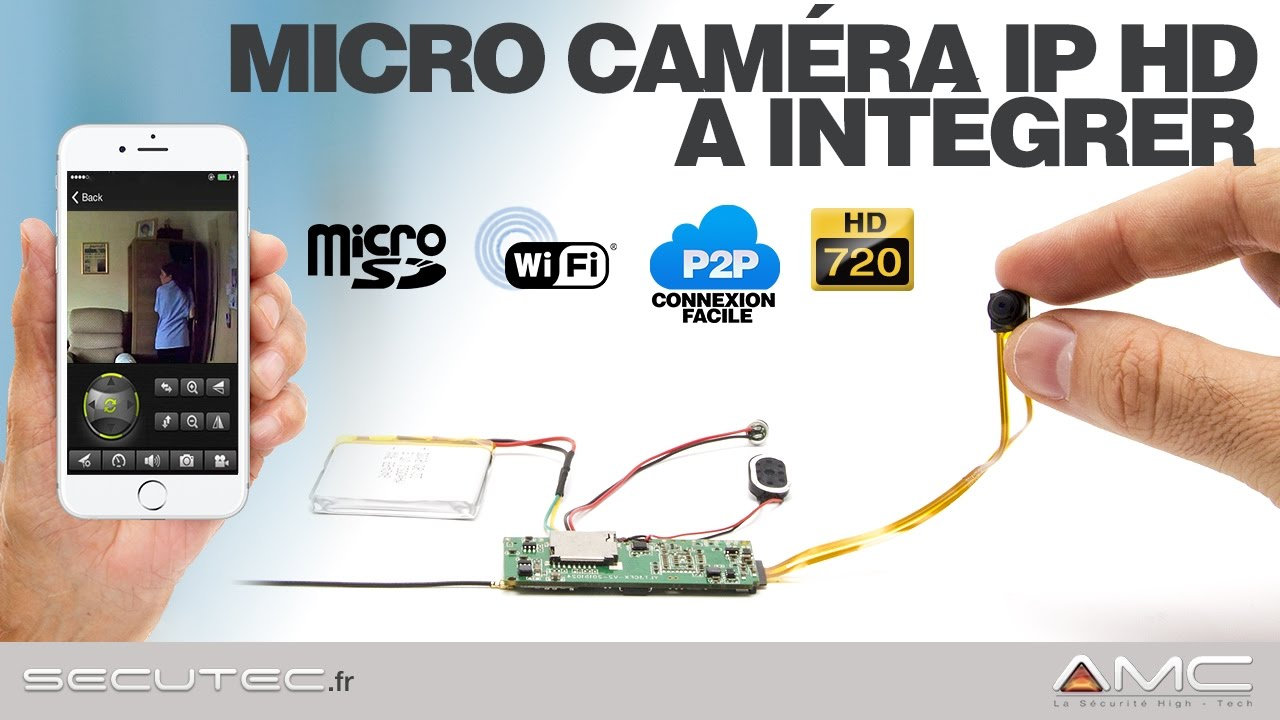 camera espion wifi a distance