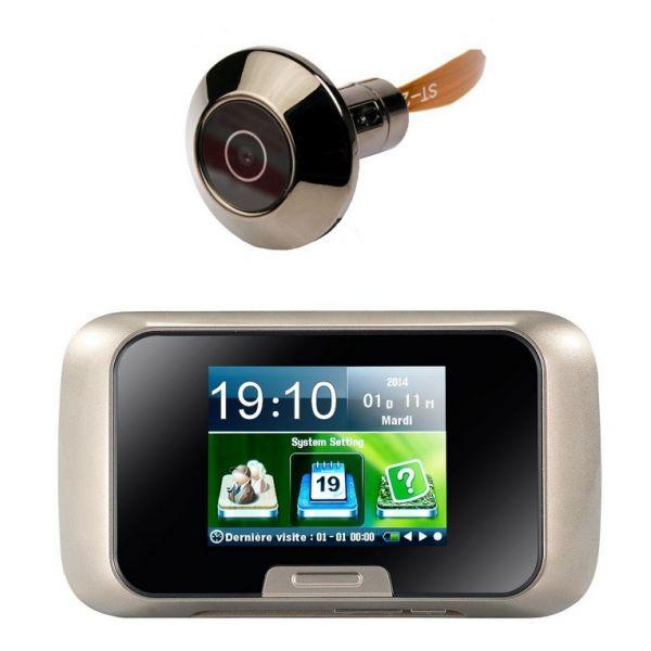 caméra judas numérique avec détecteur de mouvement