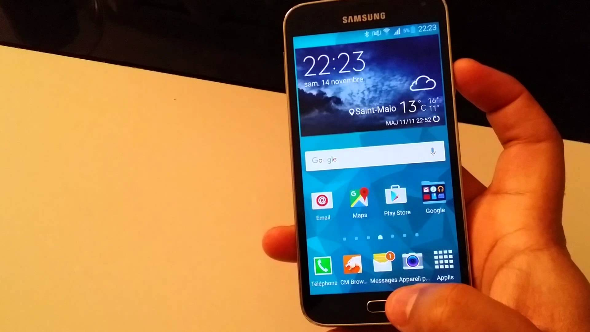 capture d écran galaxy s7 edge