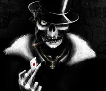 carte tete de mort