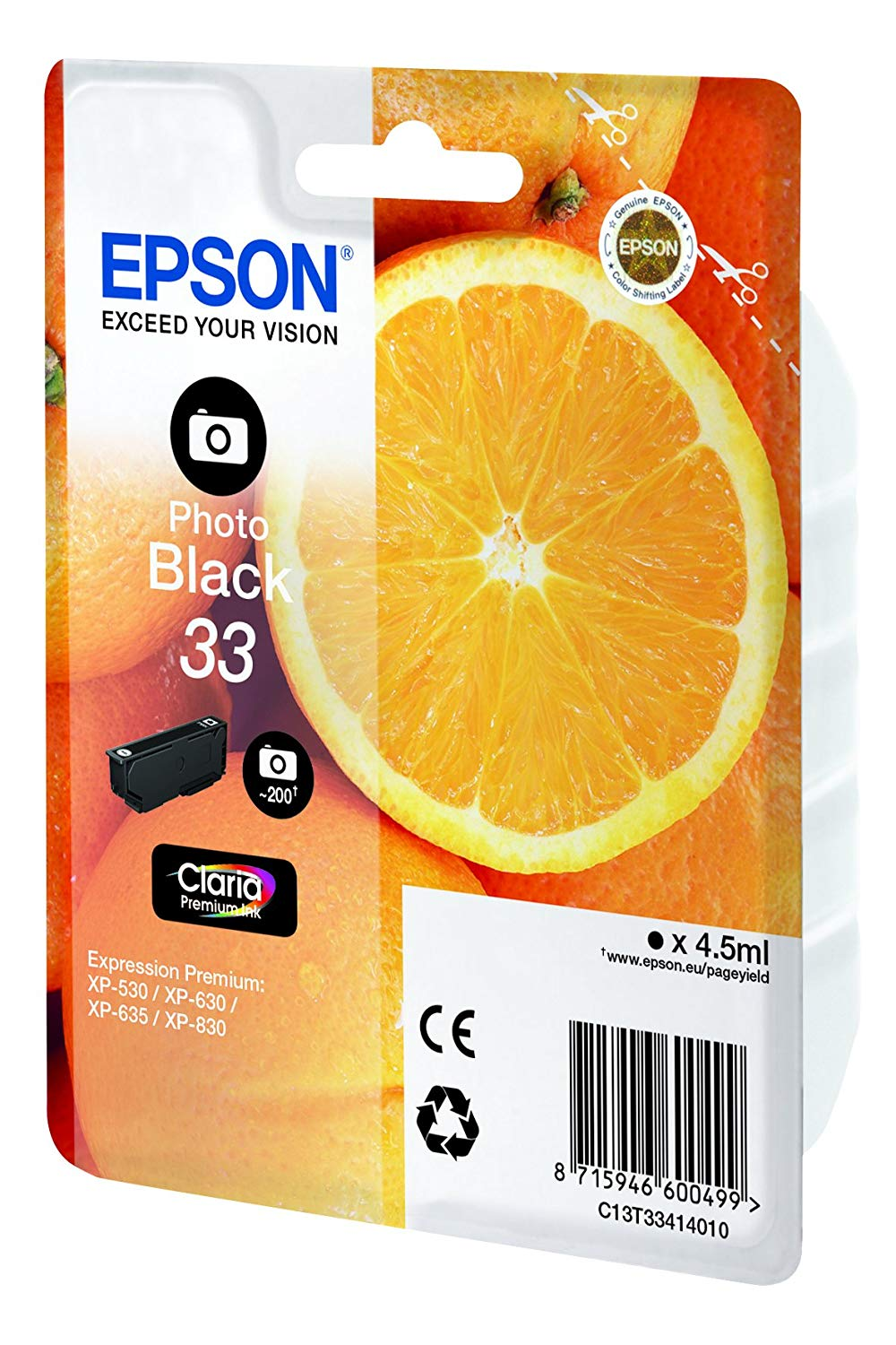 cartouche epson multipack 33