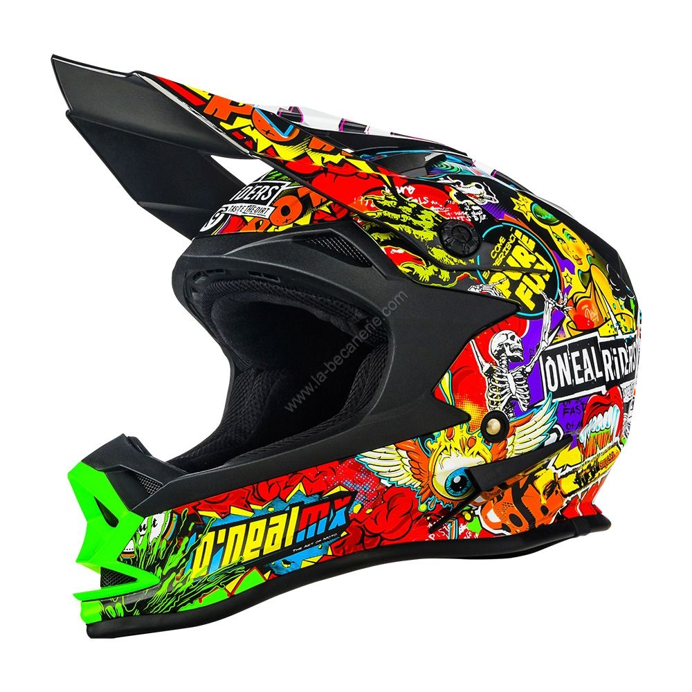 casque de moto de cross