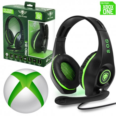 casque gamer xbox one