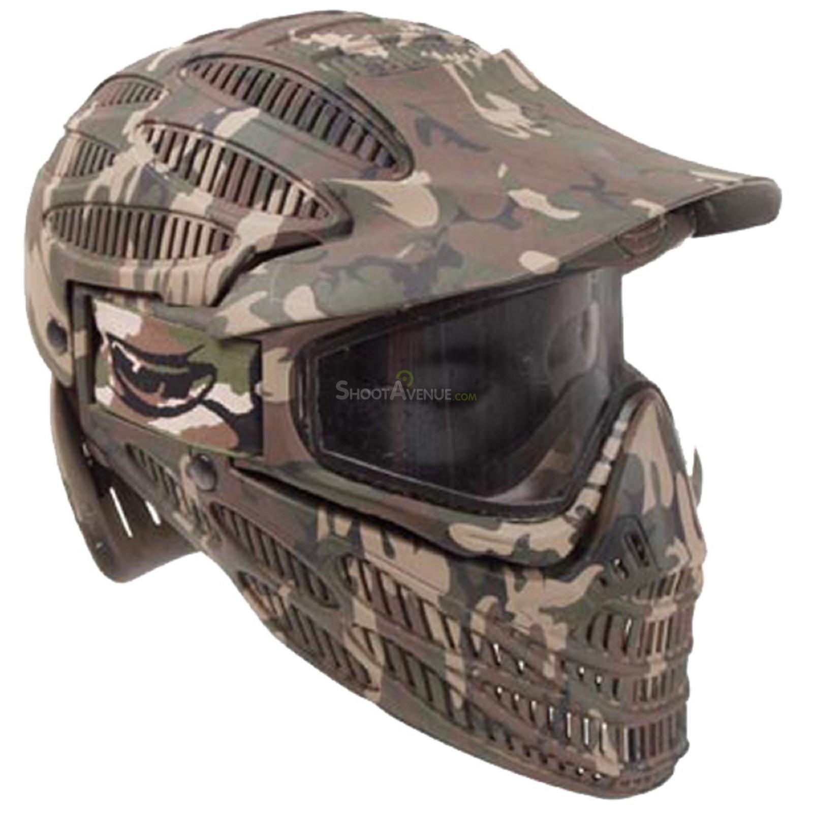 casque masque airsoft