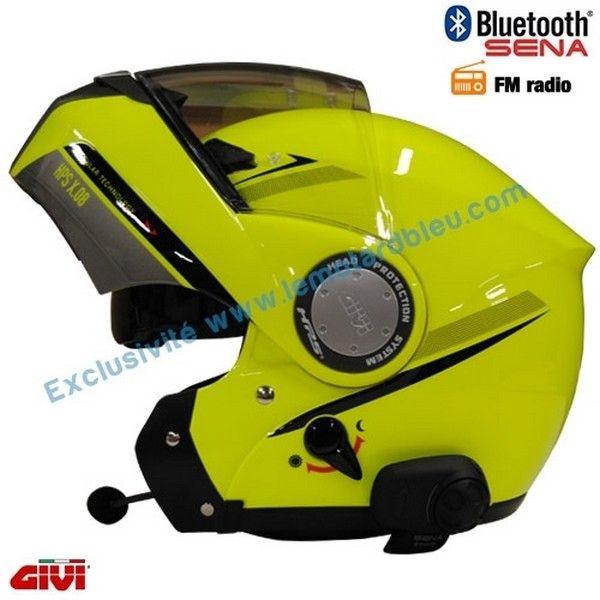 casque moto avec radio intégrée