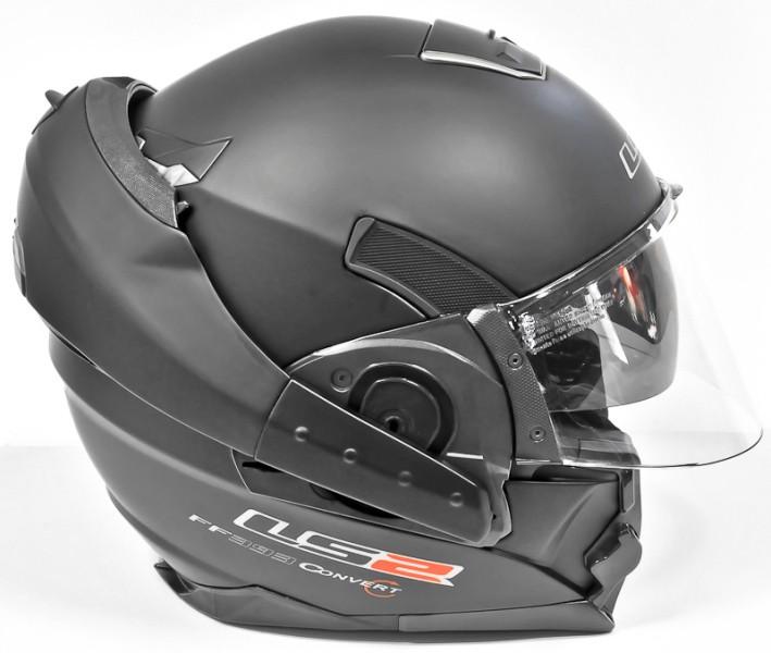 casque moto convertible