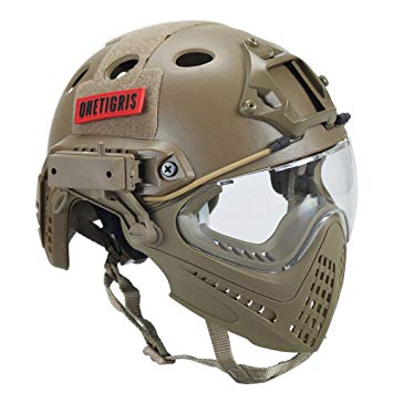 casque protection airsoft