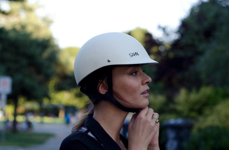 casque vélo femme design