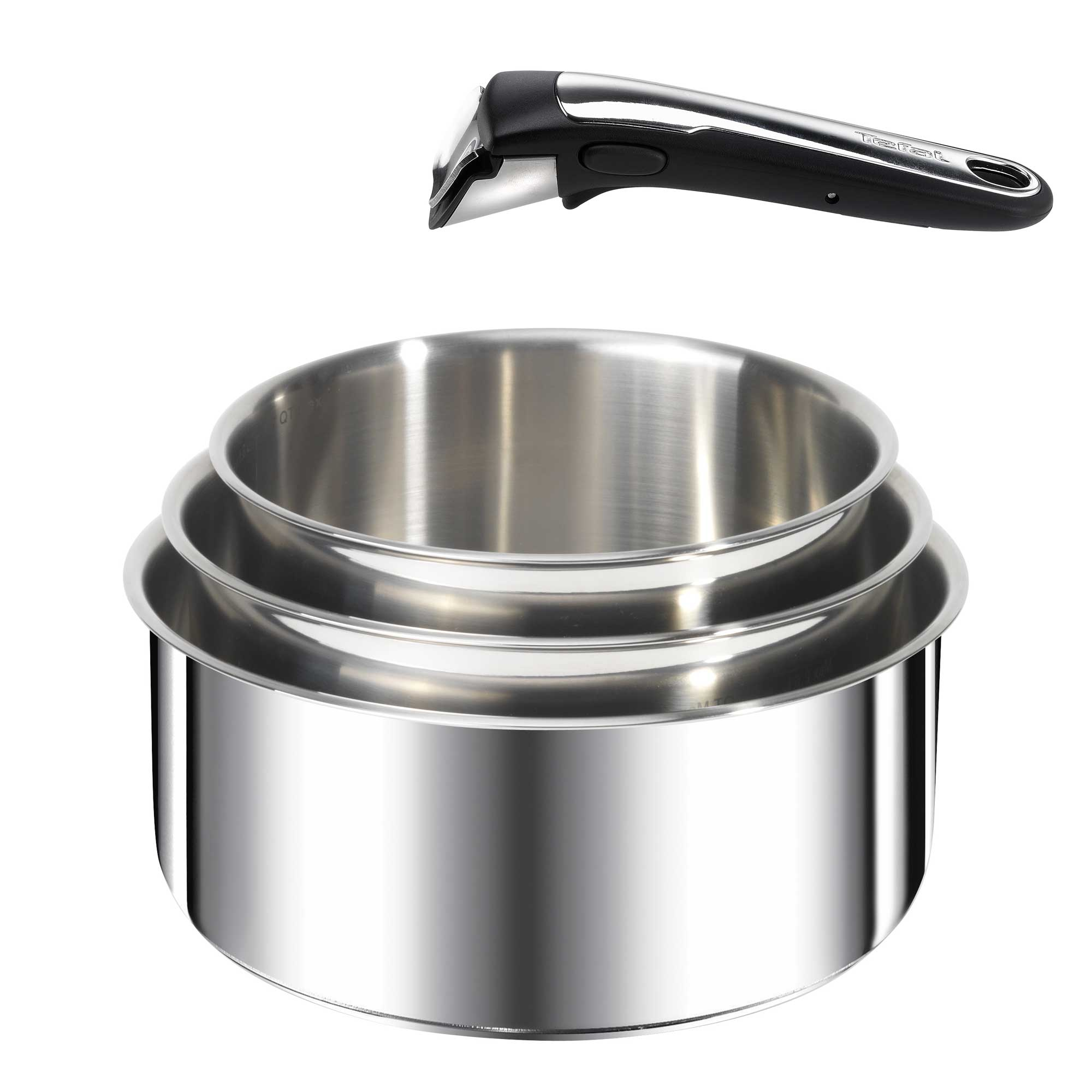 casserole induction inox manche amovible