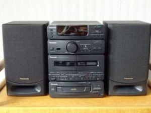 chaine hifi cd cassette
