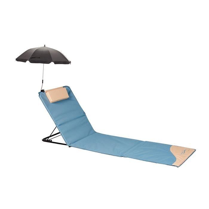 chaise de plage avec dossier