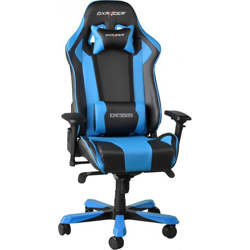 chaise gamer bleu