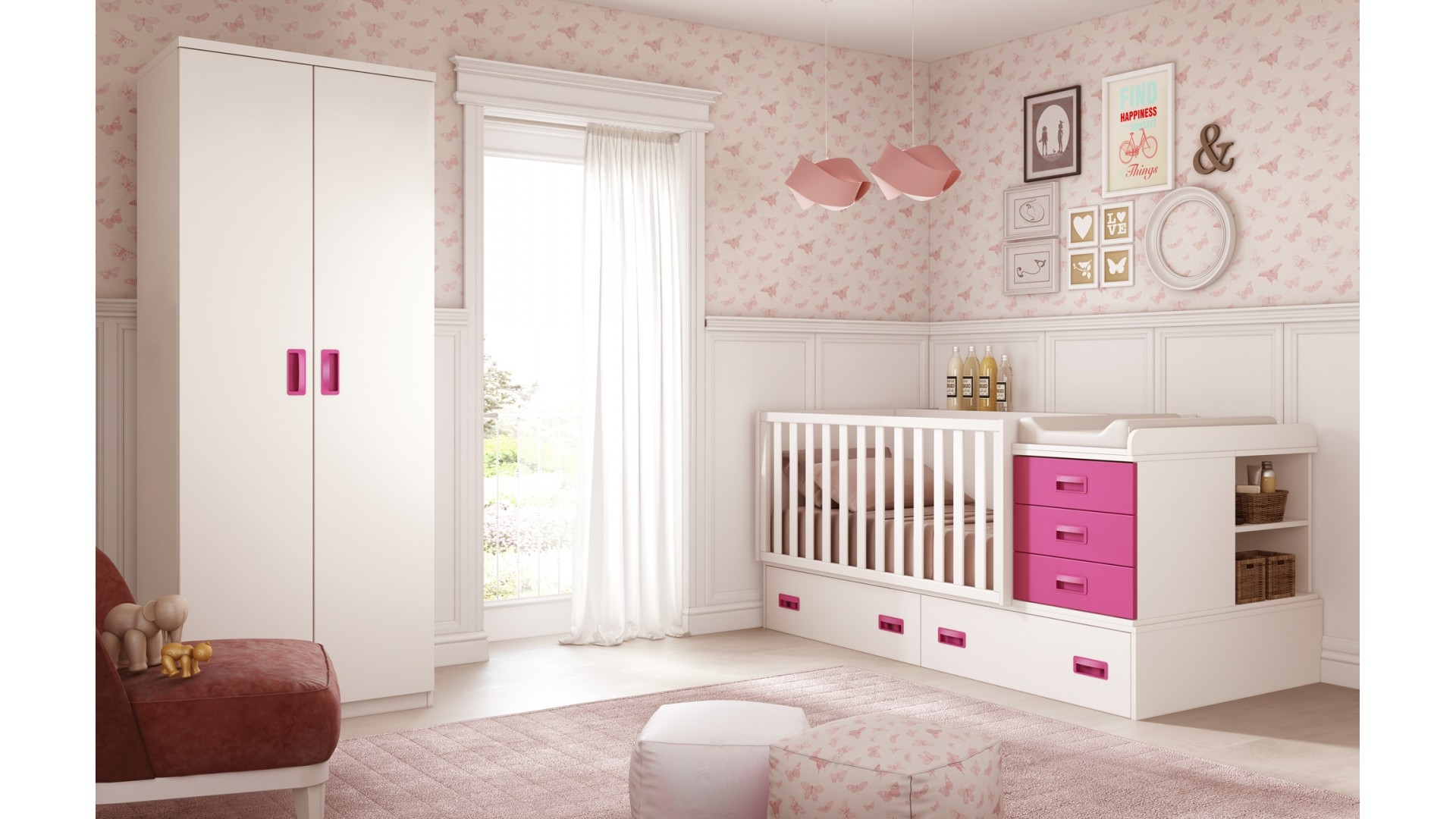chambre bébé complète évolutive