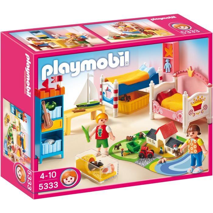 chambre d'enfants playmobil