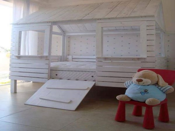 chambre enfant palette