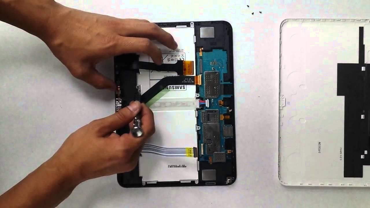 changer batterie tablette samsung tab 4