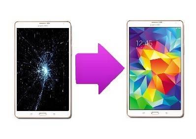 changer ecran galaxy tab 4