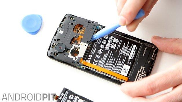 changer la batterie nexus 5