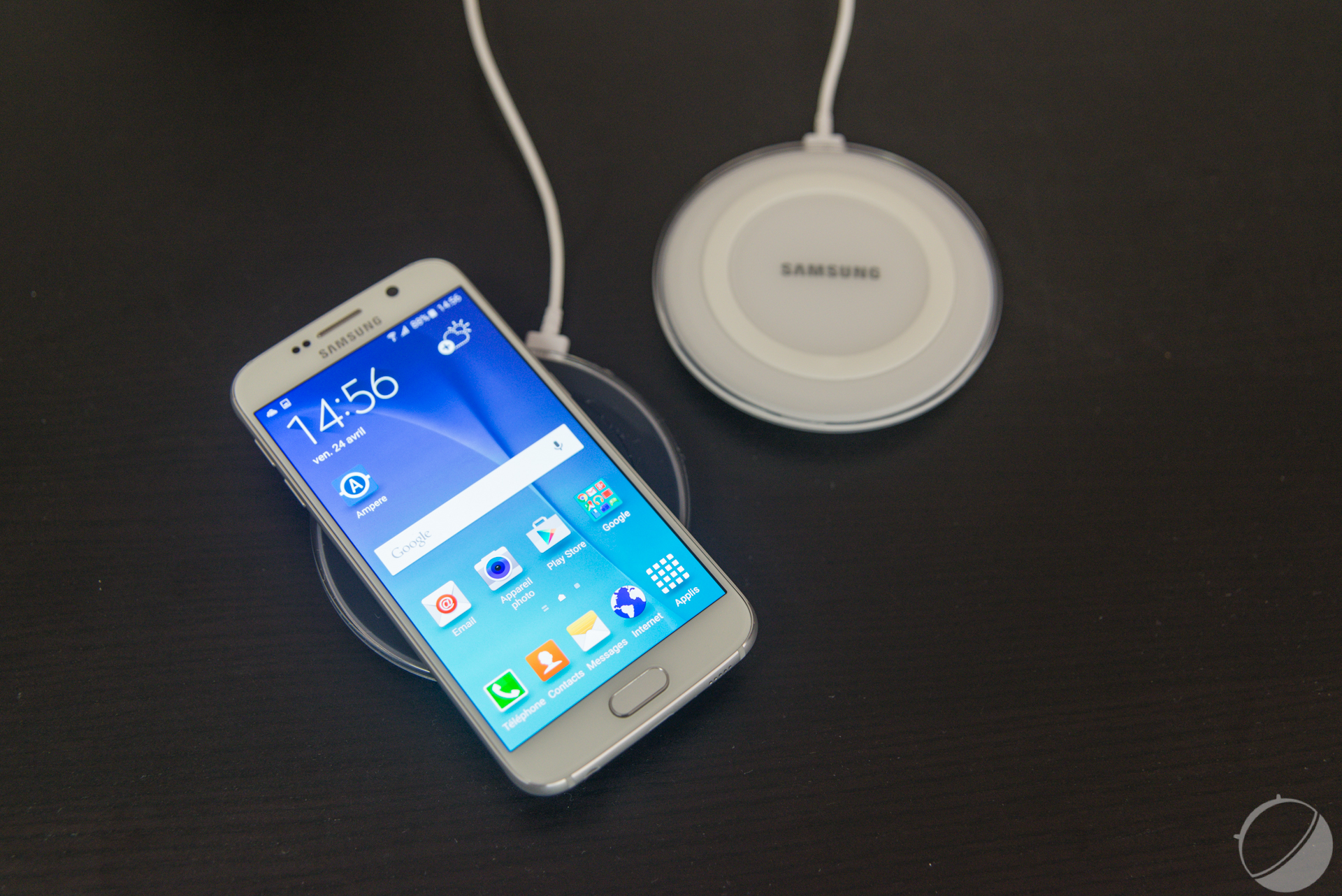 chargeur a induction samsung s6