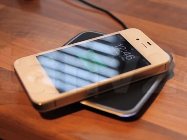 chargeur induction iphone 5