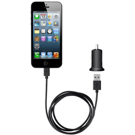 chargeur iphone 5 voiture