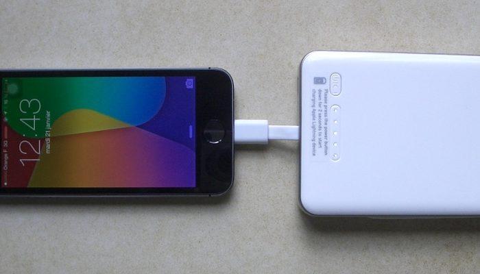 chargeur sans prise iphone