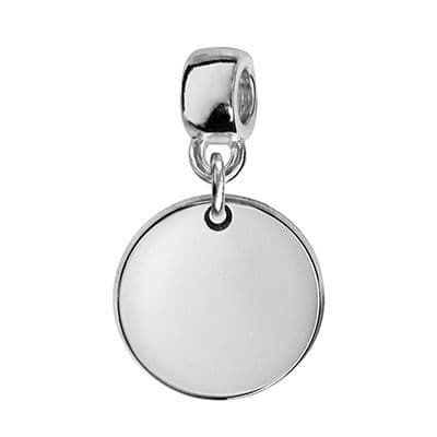 charms argent personnalisable