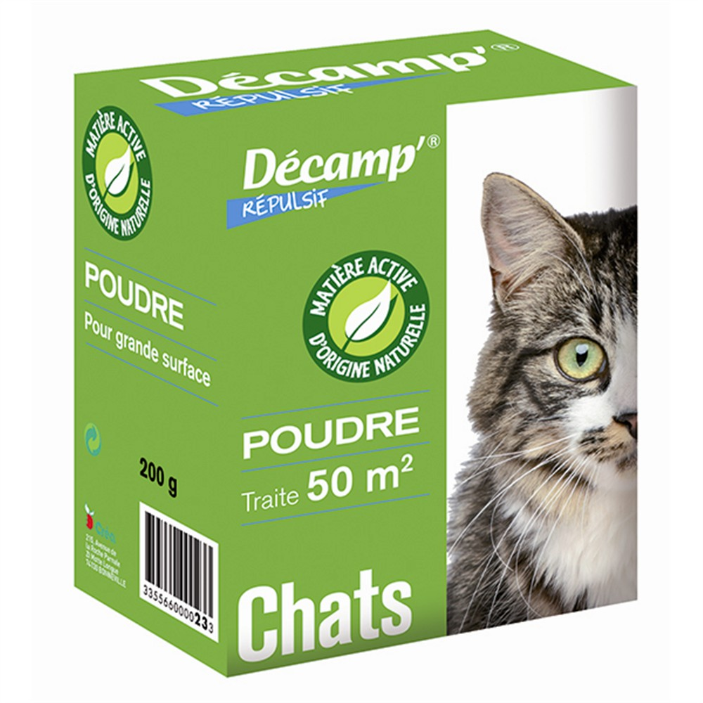 chat repulsif